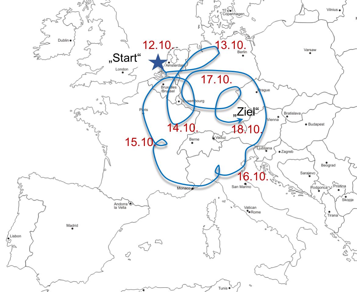 Ein äusserst langlebiges Höhentief mit eingeschlossener Kaltluft (Kaltlufttropfen) dominierte Mitte Oktober die Witterung in Mitteleuropa. Der Kaltlufttropfen bewegte sich innert einer Woche einmal um die Schweiz.